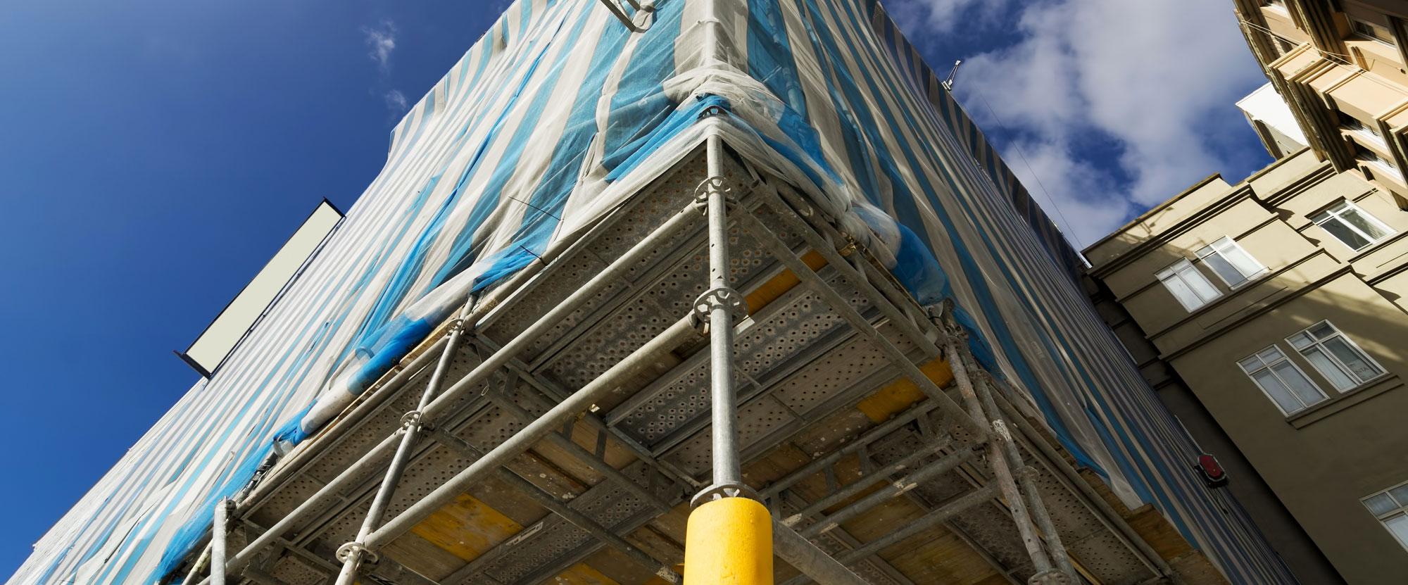 rehabilitaciones de fachadas